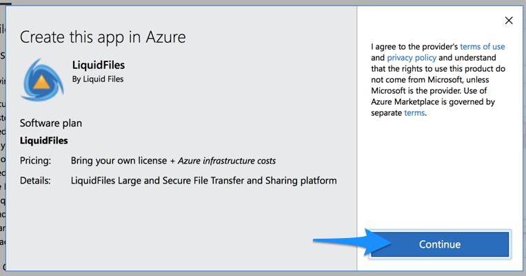 Microsoft Azure Installation | LiquidFiles Documentation